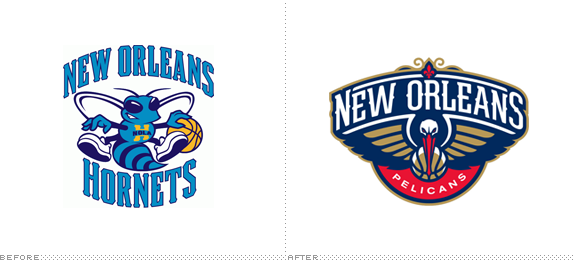 New Orleans Pelicans Logo, Before and After - New Orleans Pelicans Logo PNG
