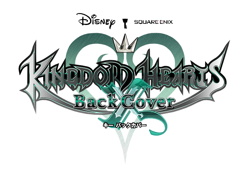 Kingdom Hearts X Back Cover Logo.png - New PNG HD