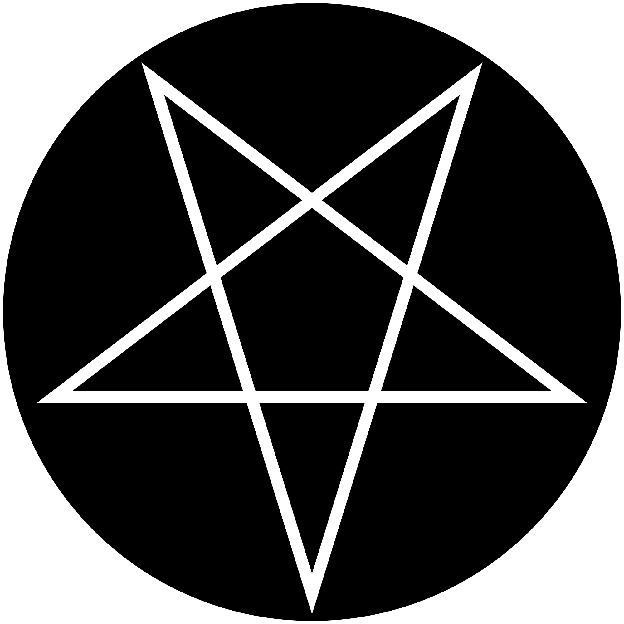 New SVG image - Pentacle PNG