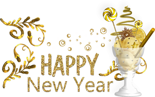 New Year HD PNG - 89804