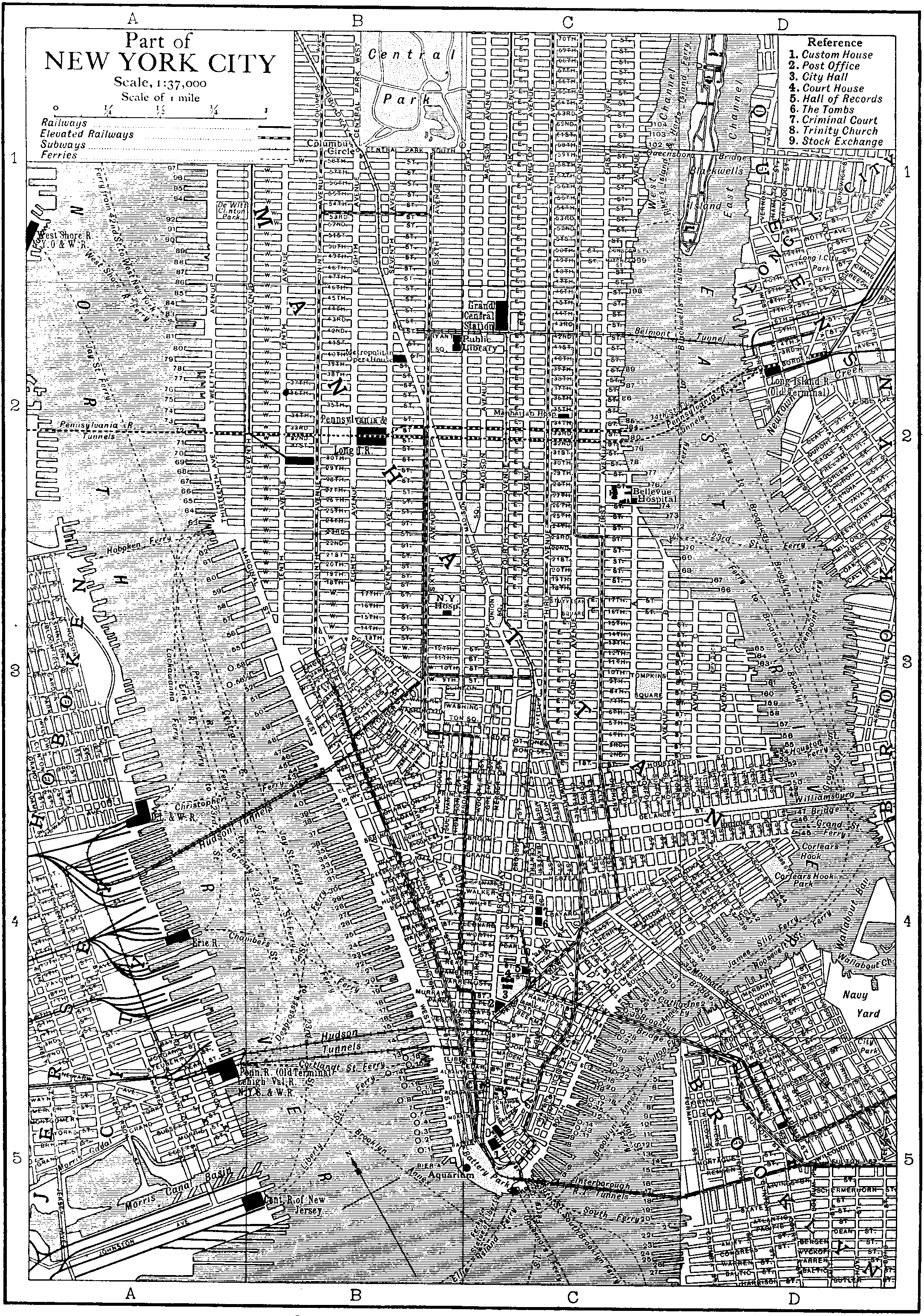 File:Britannica New York City.png - New York City PNG Black And White