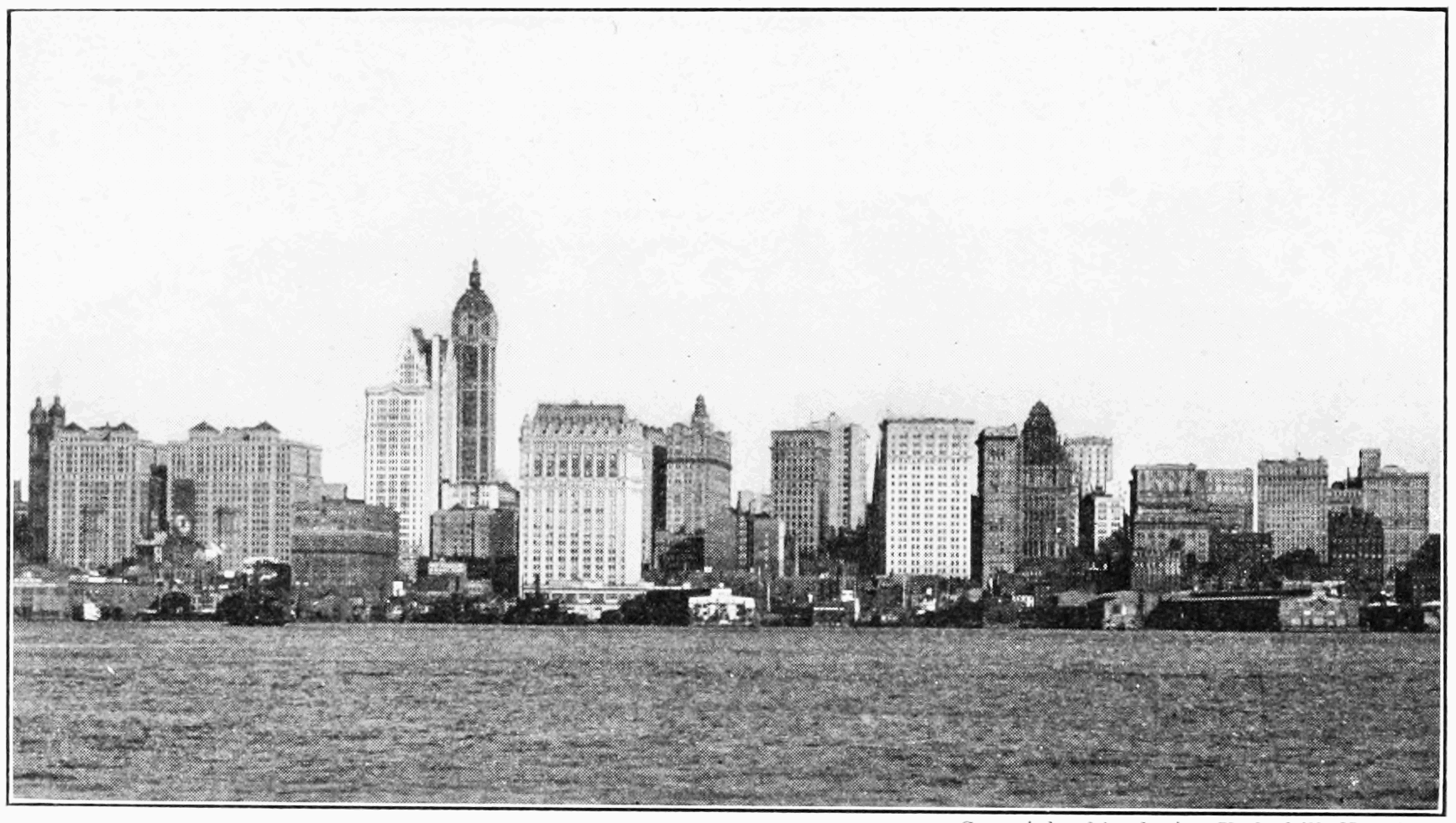 File:PSM V74 D274 New york city skyline 1909.png - New York City PNG Black And White