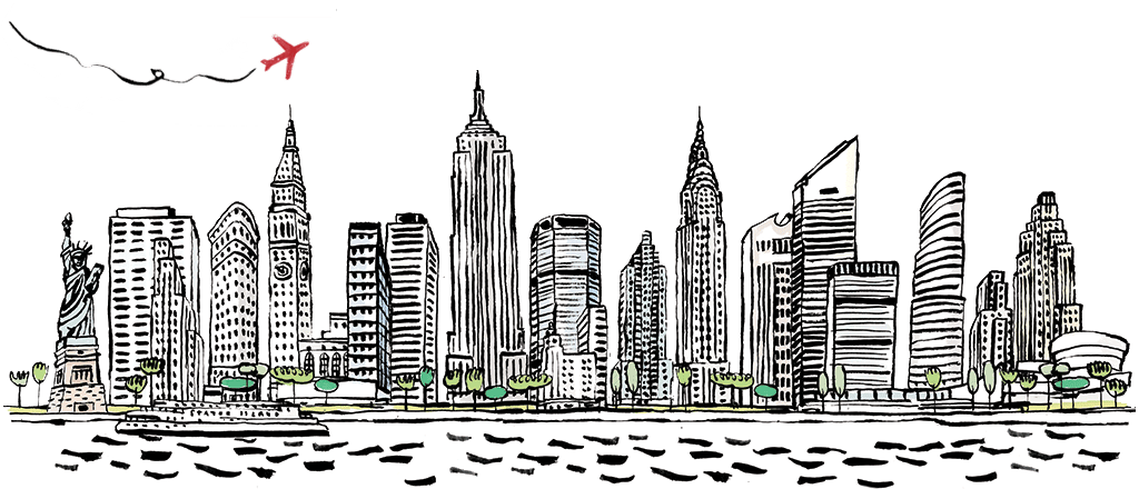 New York City PNG Black And White - 162885