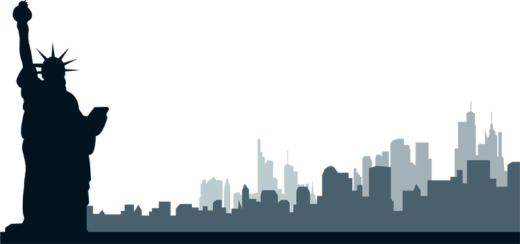 New york city clipart skyline 2 - New York City PNG Skyline