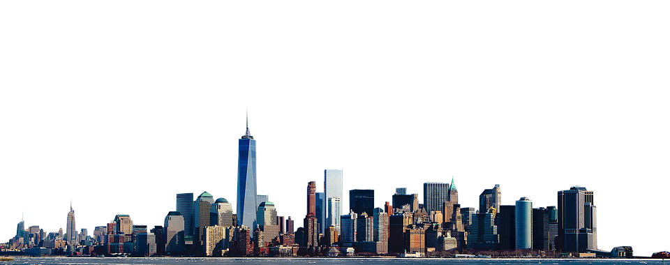 New York City PNG Skyline-Plu