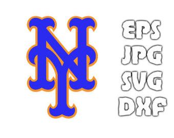 New York Mets logo SVG - Vector Design in Svg Eps Dxf Jpeg Format INSTANT  DOWNLOAD - New York Mets Logo Vector PNG