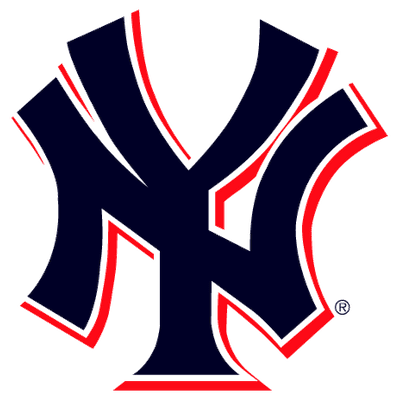 New York Yankees Logo 2 Colours - New York Yankees PNG