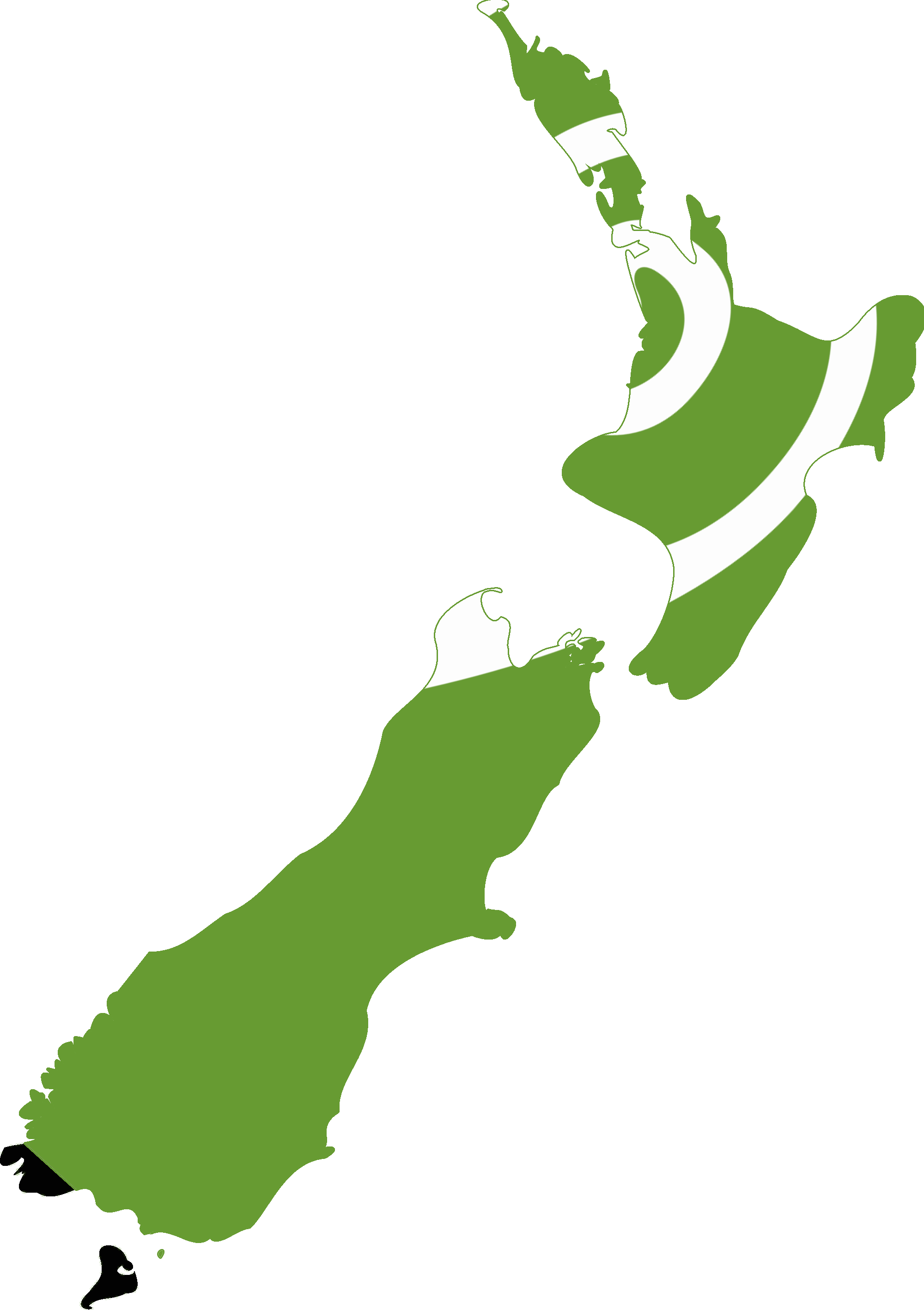 File:Flag map of New Zealand (Koru Flag).png - New Zealand PNG