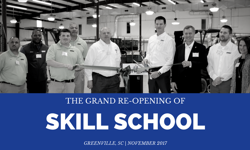 MAU Hosts Skill School Grand Re-Opening in Greenville, SC - News And Announcements PNG
