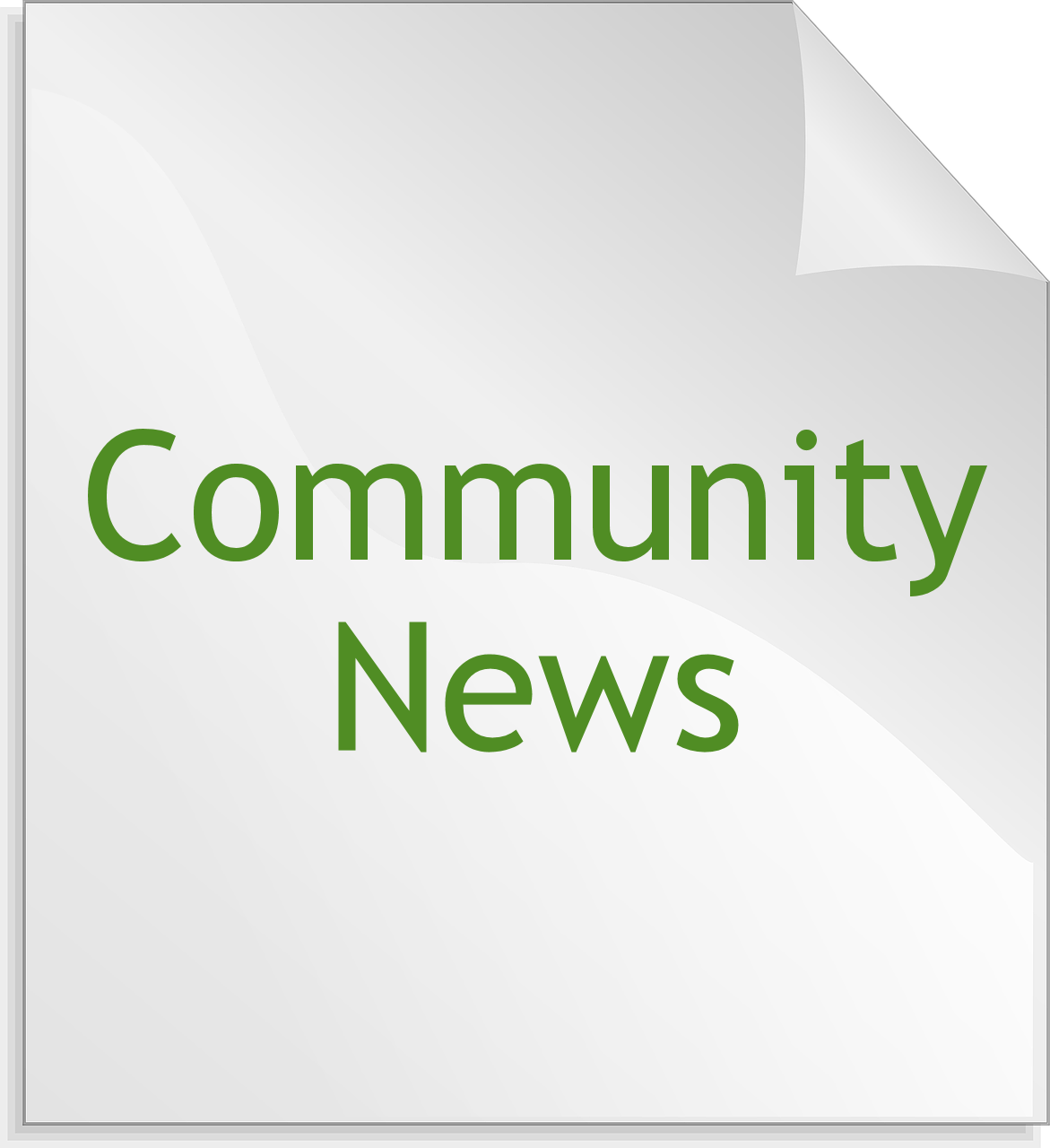 bulletin-community-news.png - News Bulletin PNG