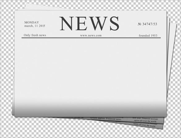 Newspaper PNG - 20268