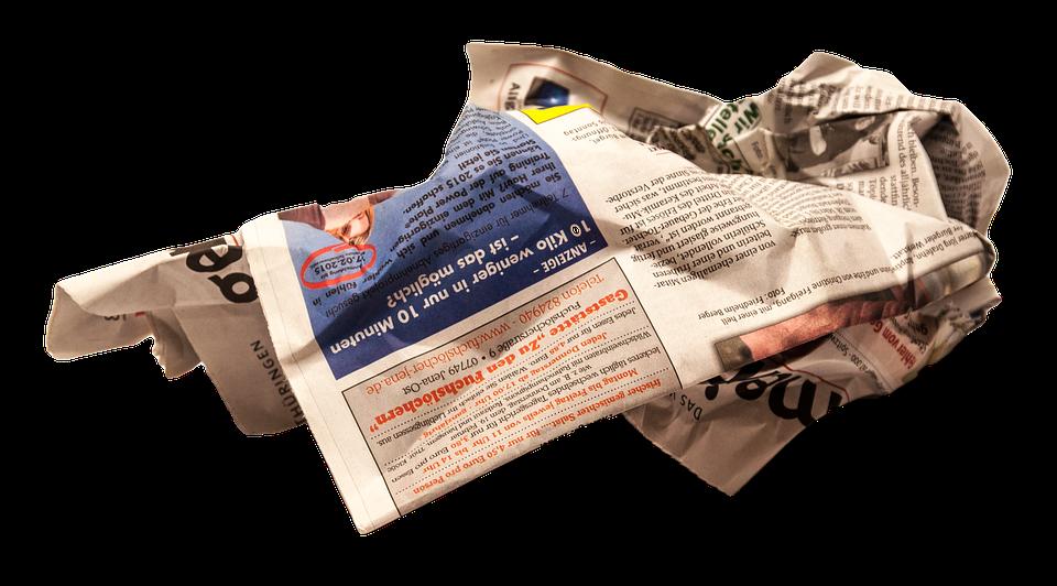 Newspaper PNG - 20269