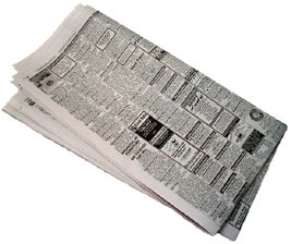 Newspaper.png - Newspaper PNG