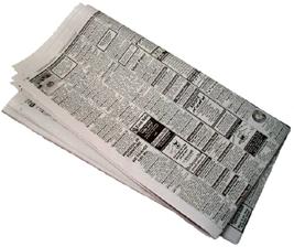 Newspaper PNG - 20267