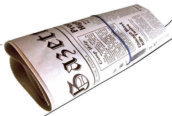 Newspaper PNG - 20274