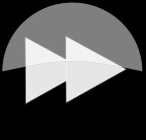 Black Next Button Clip Art - Next Button PNG