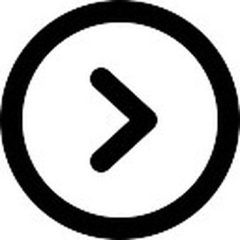 Right arrow circular button - Next Button PNG