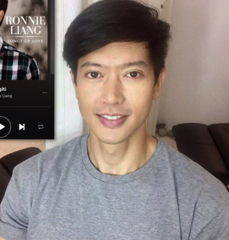 Ronnie Liang via Instagram - Ngiti PNG
