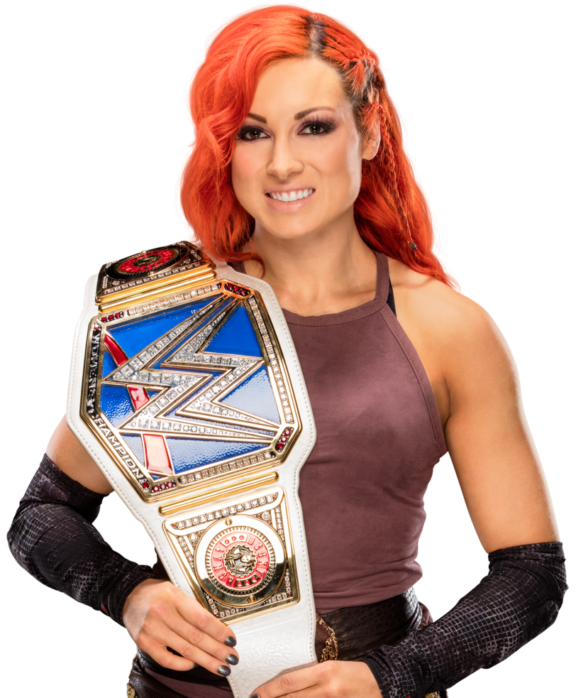 Becky lynch smackdown women s champion by nibble t-dahh2jr.png - Nibble PNG