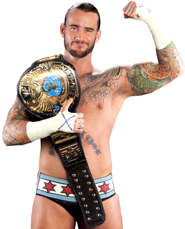 Cm punk wwe champion attitude era by nibble t-d957dkf.png - Nibble PNG