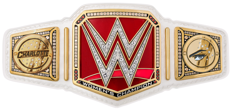 Image - Charlotte wwe women s championship sideplates by nibble t-d9ycf10. png | Pro Wrestling | FANDOM powered by Wikia - Nibble PNG