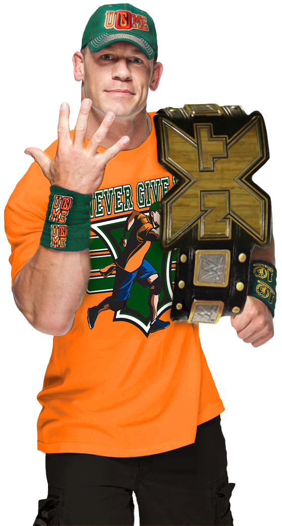 John cena nxt champion by nibble t-d969y79.png - Nibble PNG