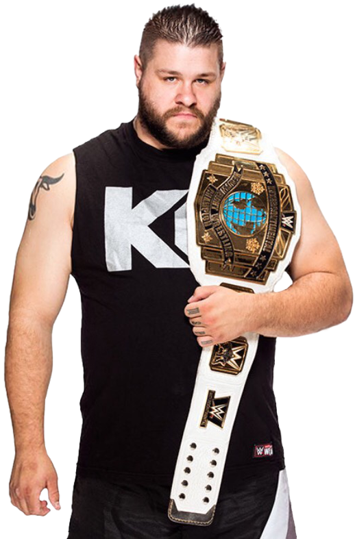 Kevin owens intercontinental champion by nibble t-d99q6yt.png - Nibble PNG