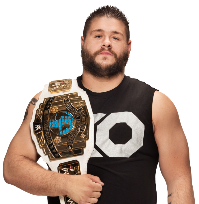 Kevin owens intercontinental champion by nibble t-d9vhjco.png - Nibble PNG