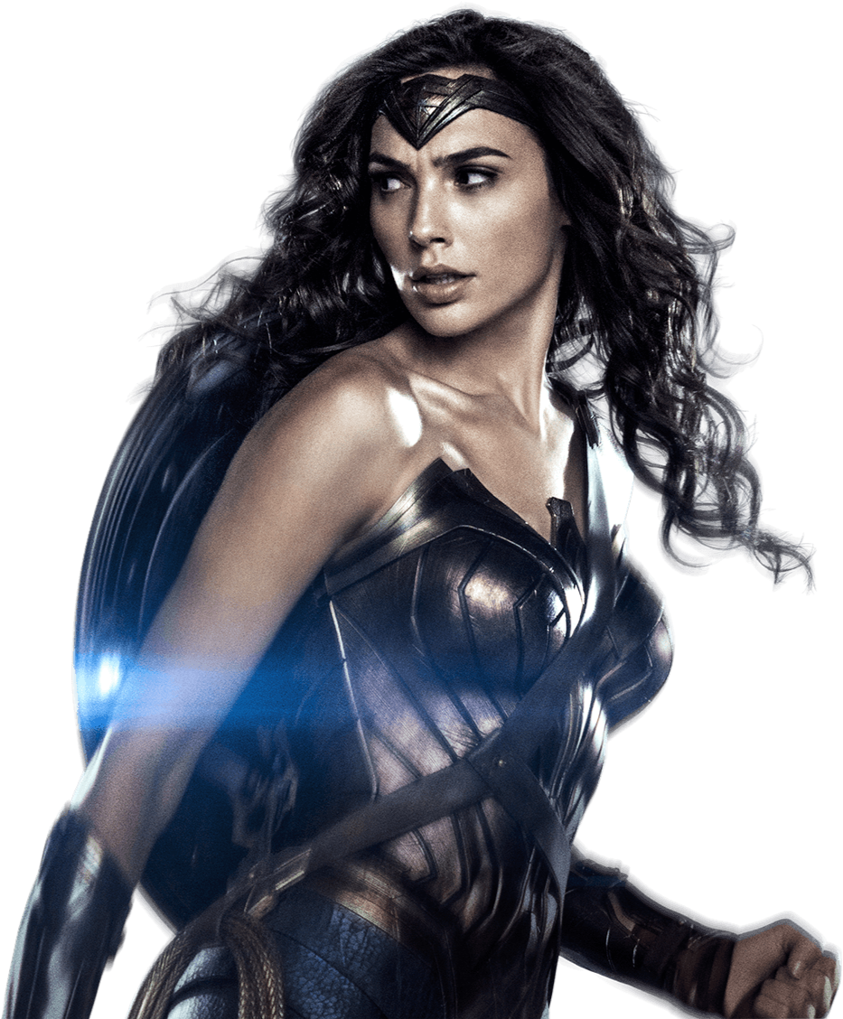 . PlusPng.com nickelbackloverxoxox Gal Gadot as Wonder Woman with shield 3 PNG by  nickelbackloverxoxox - Wonder Woman PNG