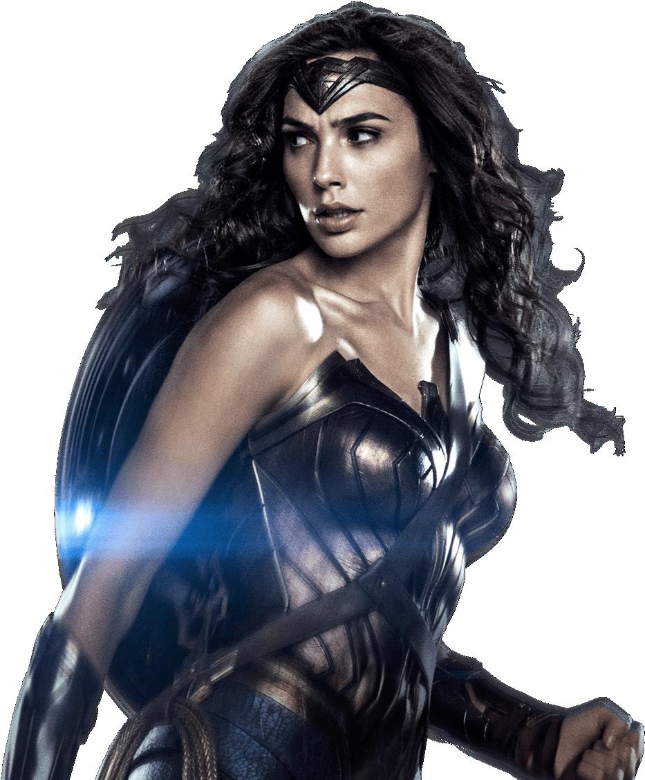. PlusPng.com nickelbackloverxoxox Gal Gadot as Wonder Woman with shield 3 PNG by  nickelbackloverxoxox - Wonder Woman PNG