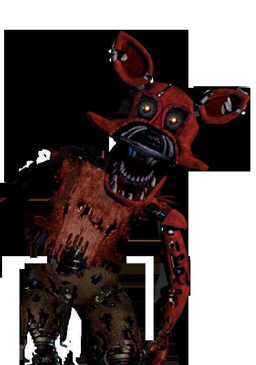 Nightmare Foxy PNG - 10734