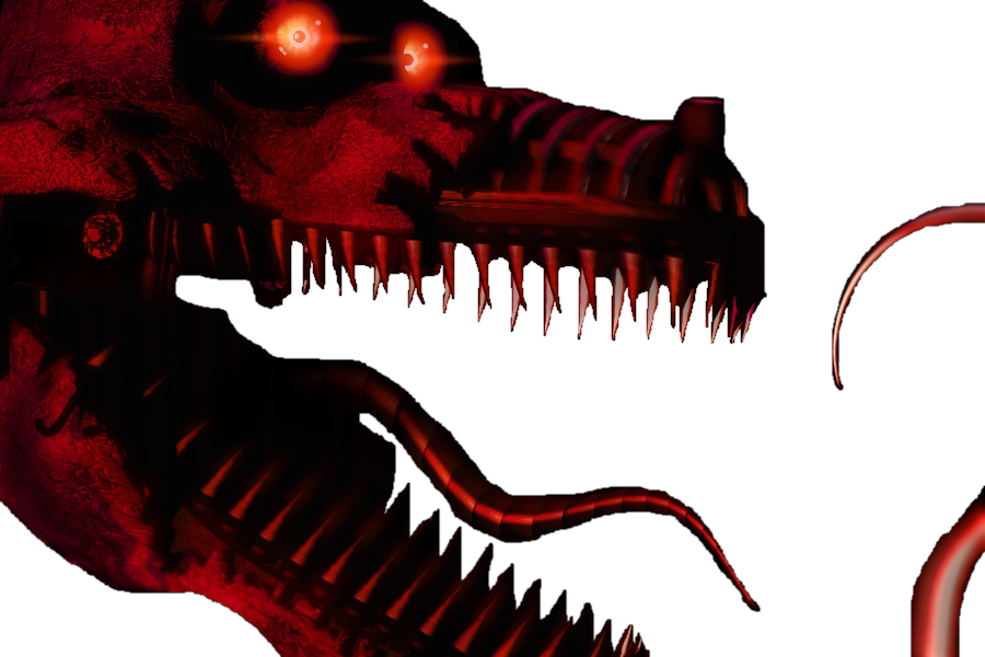 Nightmare Foxy PNG - 10737