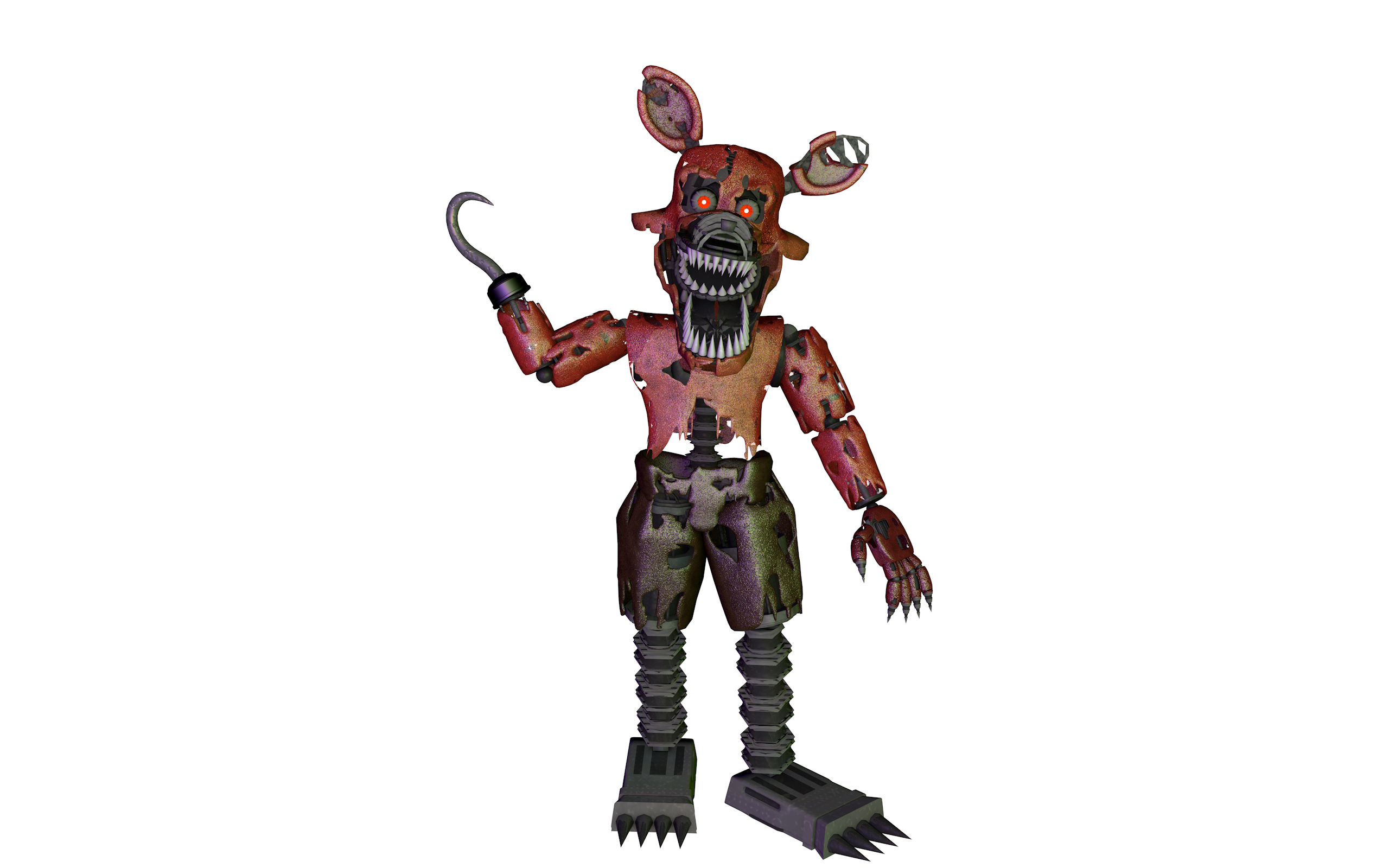 PuppetProductions 22 28 Nightmare Foxy 4.0 Update | ThrPuppet by  PuppetProductions - Nightmare Foxy PNG