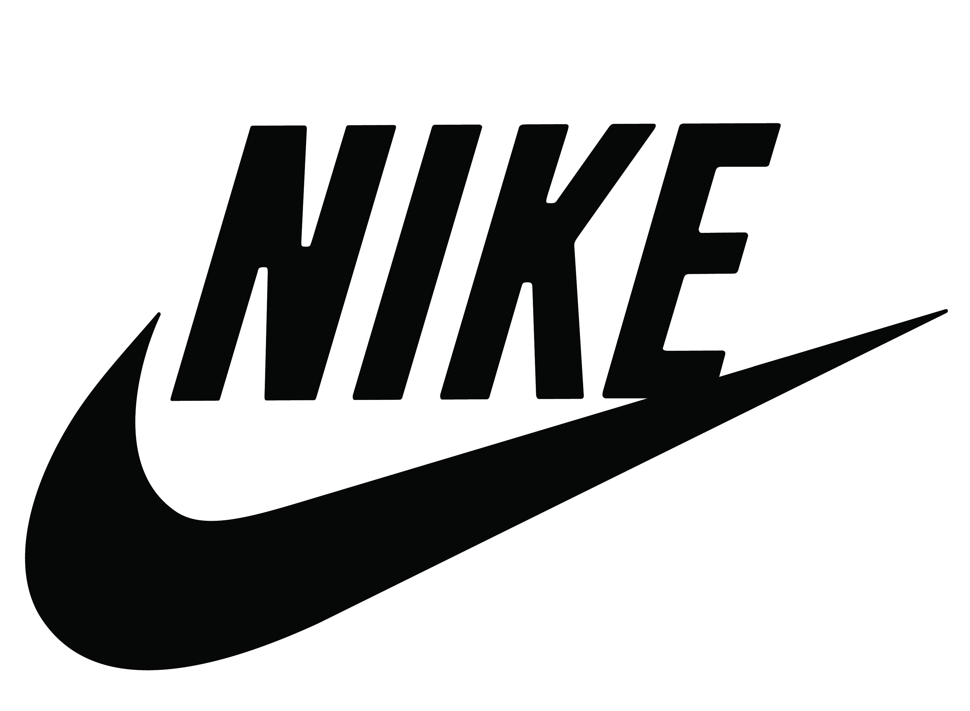 2. Use Curves - Nike Logo PNG
