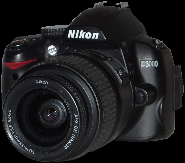 File:Nikon D3000 CN-2011-04.png - Nikon PNG