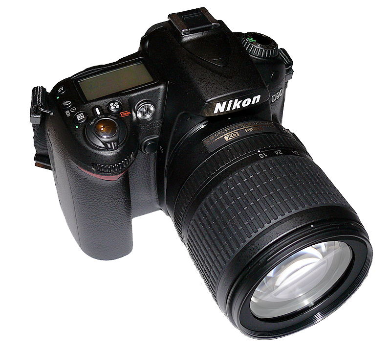 File:Nikon D90.png - Nikon PNG