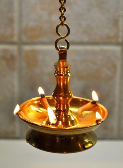 pin Oil Lamp clipart vilakku