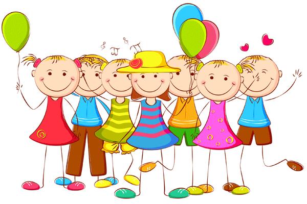 Niños de cumpleaños para imprimir , Niños y niñas con globos, alegres de  cumpleaños, - Nino Con Cartel PNG