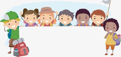 Niños vacaciones Gratis PNG y Clipart - Nino Con Cartel PNG