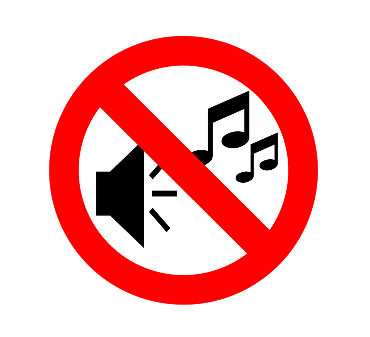Can You Imagine a Noise-Free Society? - No Noise PNG