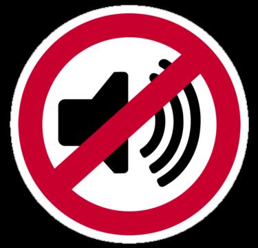 No Noise Clip Art - No Noise PNG