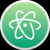 Atom Logo Vector - Nodejs Logo Vector PNG