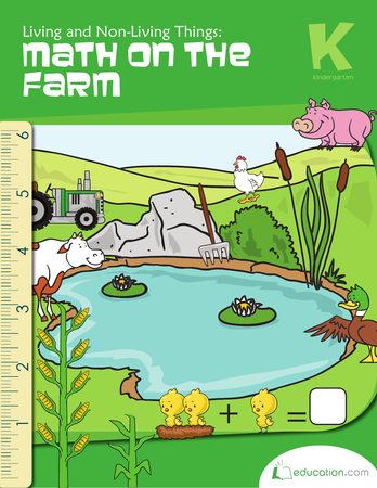 Kindergarten Math Workbooks: Living and Non-Living Things: Math on the Farm - Non Living Things Pictures For Kids PNG