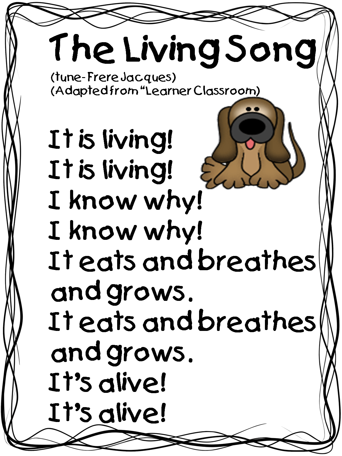 Living Songu0026 (Tune: u0026 Jacquesu0026 This song is great to add to a unit on living  and non-living things because it will help the students to remember what  makes PlusPng.com  - Non Living Things Pictures For Kids PNG