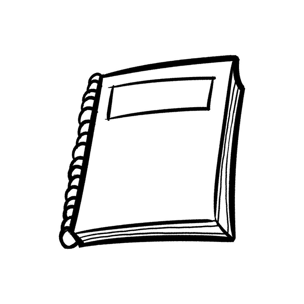 note book png black and white transparent note book black and white