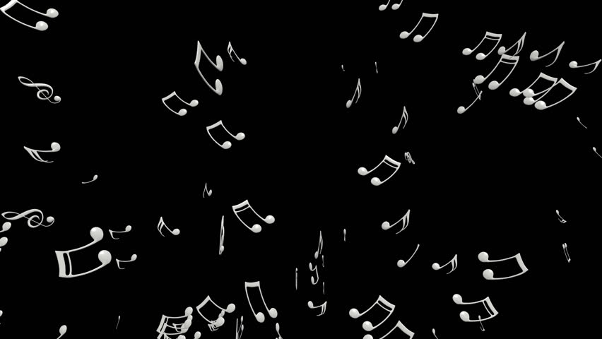 Each Music Note Is A 3d Model With Light Reflection On Surface. (Alpha  Channel Embedded In HD PNG File). Stock Footage Video 9133253 | Shutterstock - Note HD PNG