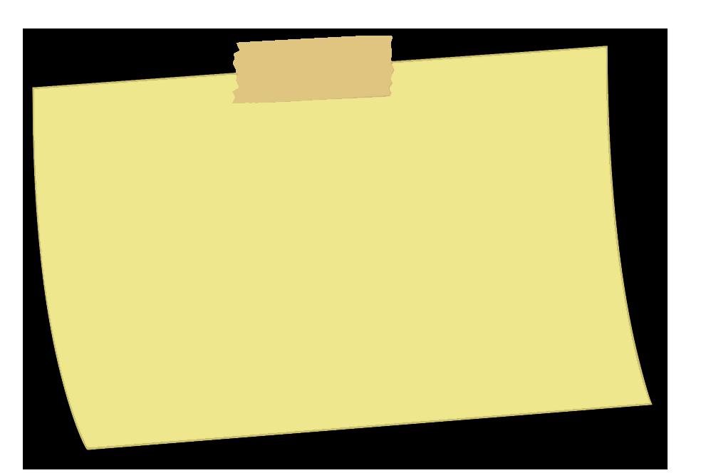 Sticky note PNG