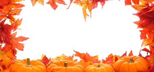 . PlusPng.com November Thanksgiving Borders (14) PlusPng.com  - November PNG Border