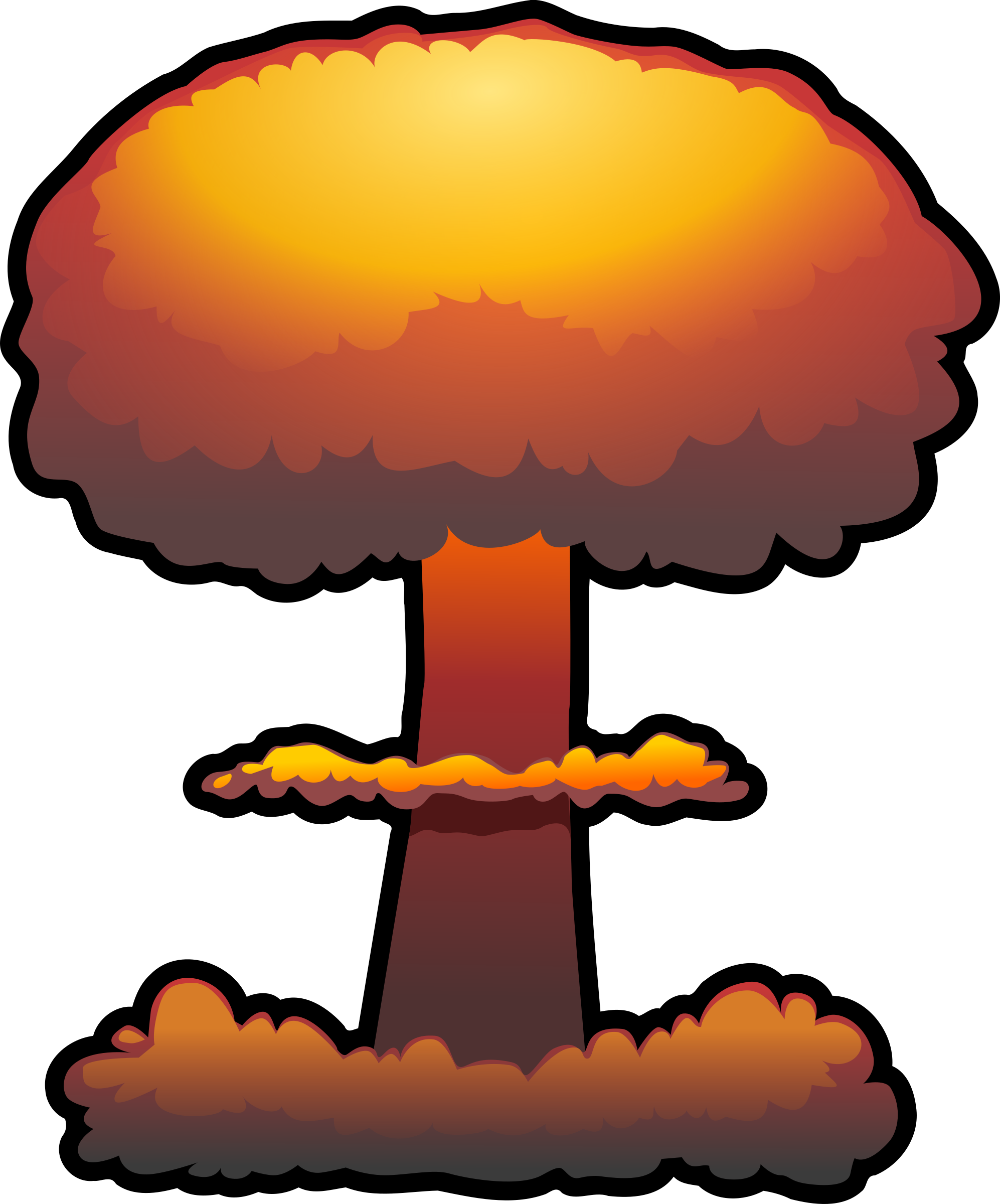 Nuclear Explosion PNG - 70768