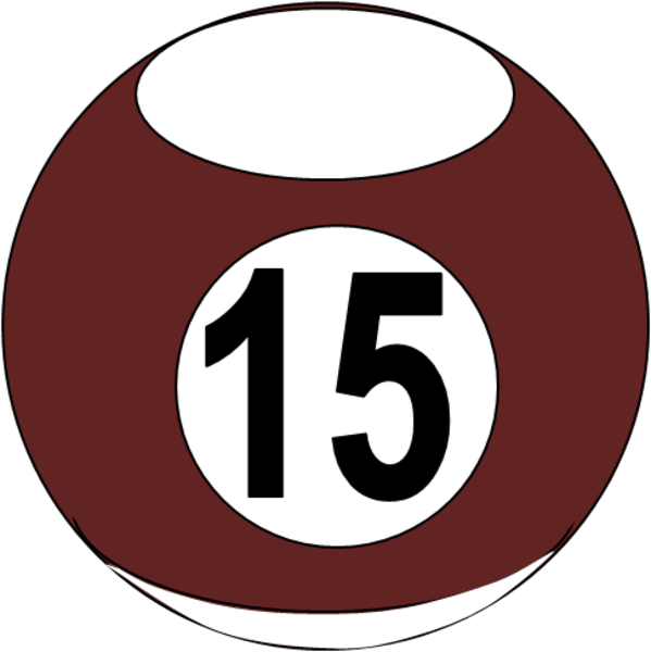 Number Fifteen PNG - 66560